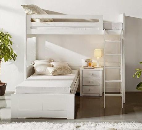 Grandes ideas para espacios peque os la familia y uno m s for Cual es la cama mas grande