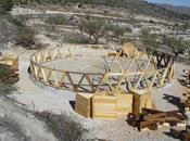 Comienza construcción vivienda geodésica autosuficiente Yecla (Murcia)