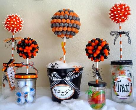 decoracion dulces halloween