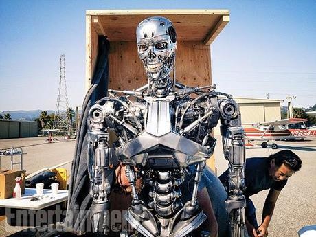 Primer Vistazo De Arnold Schwarzenegger En Terminator: Genisys