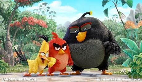 Nos llega la primer imagen oficial de la película de los ANGRY BIRDS