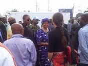 Ébola: médicos cubanos Liberia trabajan hospital inaugurado presidenta fotos video]