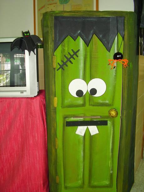 Halloween paperblog for Puertas decoradas en halloween