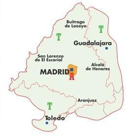 zonas ticket turístico madrid
