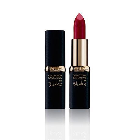 Pintalabios rojo mate Blake Lively Col lection Exclusive de L'Oréal Paris