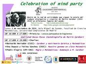 Martin Gardner, química cristalografía Semana Ciencia