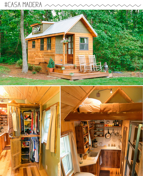 Mini casas o tiny house paperblog - Mini casas de madera ...