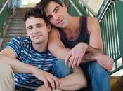 Primera imagen pareja formada James Franco Zachary Quinto 'Michael'