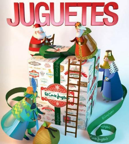 Cat logo de juguetes de navidad de el corte ingl s 2014 for El corte ingles navidad