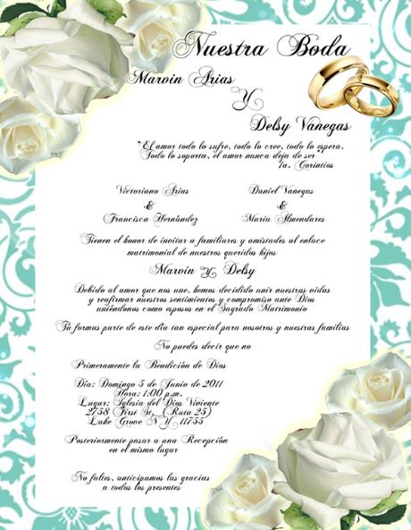 Matrimonio Catolico Tradicional : Pensamientos para invitaciones de boda bellos textos
