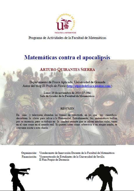 Matemáticas contral el apocalipsis [Conferencia]
