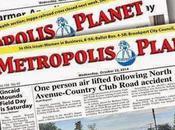 Periódicos extraños: Metropolis Planet