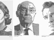 Retratos mecanografiados