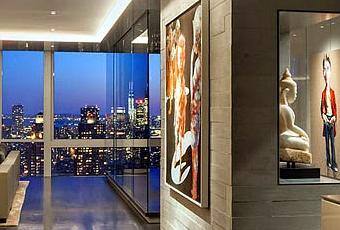 Piso minimalista en nueva york minimal penthouse in new york paperblog - Pisos en new york ...