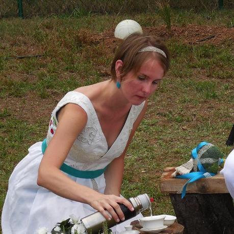 El vestido en la ceremonia de té
