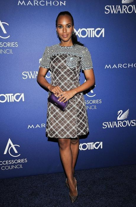 Kerry Washington de Prada, durante los premios anuales Accessories Council ACE en Nueva York.