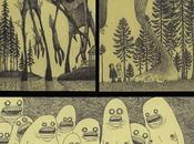 monstruos post-it