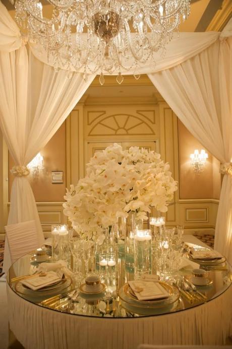 una boda brillante: decoración para bodas en oro y plata - paperblog