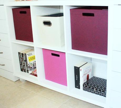 Trucos para organizar en casa paperblog for Mueble cuadrados ikea