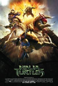 Póster: Las Tortugas Ninja (2014)