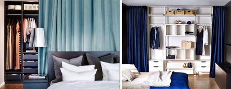 Armarios lowcost con cortinas paperblog - Cortinas para armarios ...
