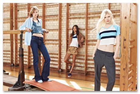 Zara también ha sucumbido a los encantos de Malaya Firth, una de las modelos del look book de TRF.