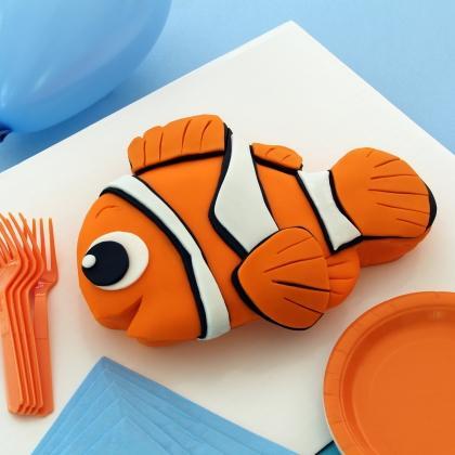 Especial para los adictos a disney paperblog for Nemo cake template