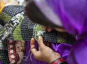 quién cosió pañuelo! Moda ética favor mujeres India