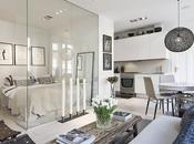 pequeño estiloso apartamento Estocolmo