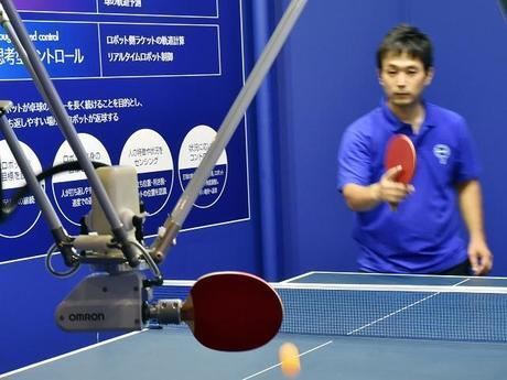 Robot contra humano