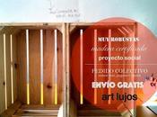 1001 muebles cajas madera. Decoración eco-friendly