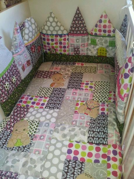 Colchas en patchwork paperblog - Colchas patchwork infantiles ...