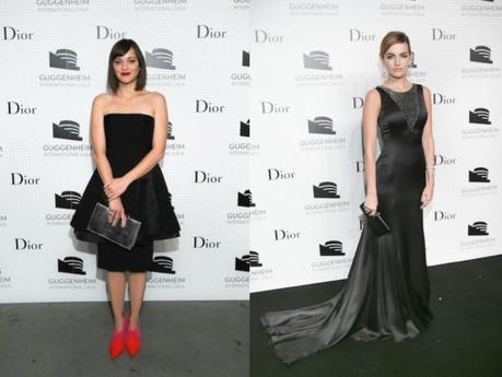 Marion Cotillard y Camilla Belle, dos looks en negro de Dior (puedes ver el resto de looks de este evento en nuestra página de Facebook).