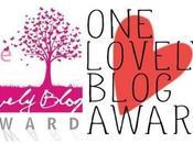 Premio Lovely Blog Award