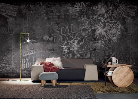 London art dise o en papel pintado para paredes paperblog - Catalogos de papel pintado para paredes ...