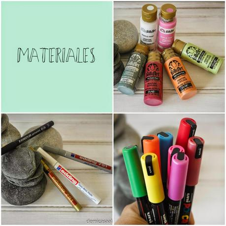 Diy pintar mandalas en piedras paperblog for Color piedra pintura pared