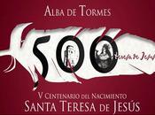 cuna sepulcro: Ávila Alba Tormes (Salamanca) unidos Santa Teresa.