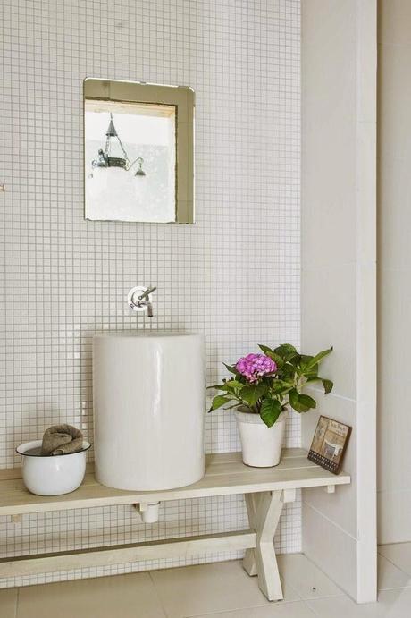 Ideas para pequeños baños en blanco   paperblog