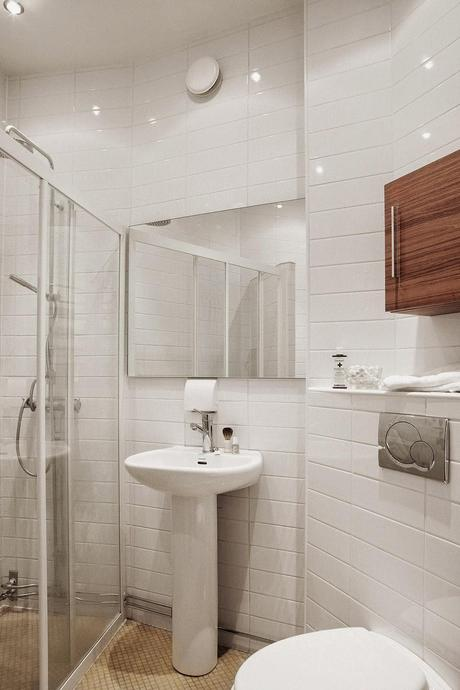 Ideas para pequeños baños en blanco - Paperblog