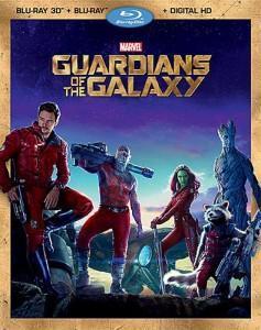 Blu-ray de Guardianes de la Galaxia