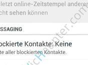 podrá desactivar aviso leído Whatsapp