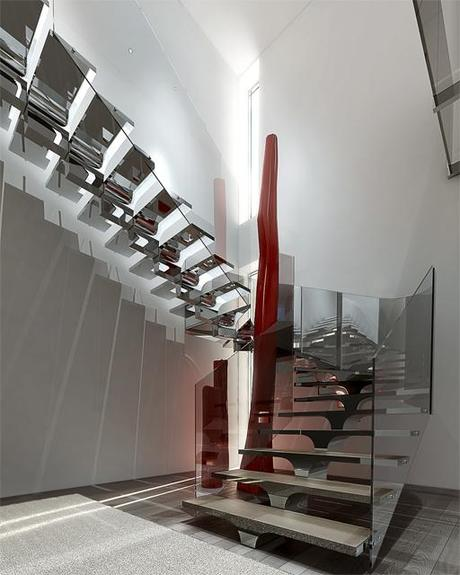 Proyecto de reforma para un d plex tico en el una for Escaleras duplex fotos