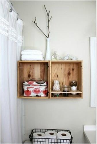Amueblar Baño Pequeno:Decorando un pequeño baño con encanto #Small&LowCost – Paperblog