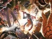 Vistazo oficial portada Alex Ross para Secret Wars