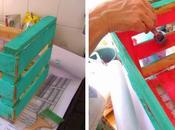 D.I.Y. ideas para decorar cajones verduras.