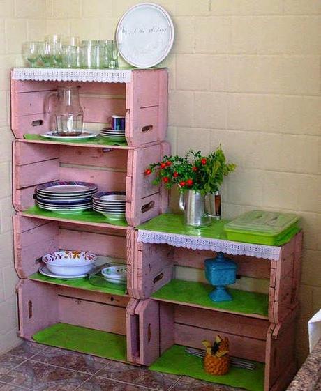 D i y ideas para decorar con cajones de verduras paperblog - Como decorar cajas de madera de fruta ...