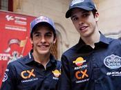 Álex piloto Marc Márquez, campeones mundo