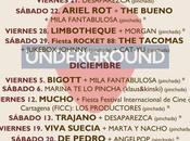 Underground Cartagena: programación Noviembre Diciembre