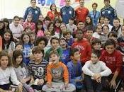 Lolo Pablo sometieron preguntas alumnos CEIP Neruda Taller Periodismo