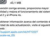 Mejora rendimiento iPhone iPad 8.1.1
